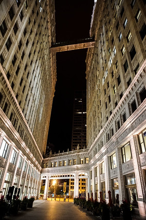 The Wrigley Building in Chicago, Illinois