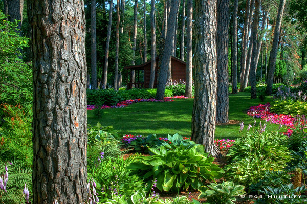 Munsinger Gardens in St. Cloud, Minnesota. HDR © Rob Huntley