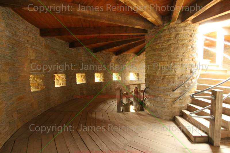 Winding Staircase of the Round Tower