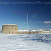 Fort Snelling in Snow