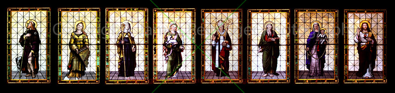 Christ is King Church Stain Glass