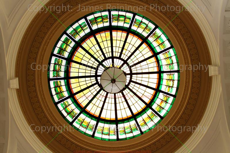 Rotunda of Crow Wing Courthouse