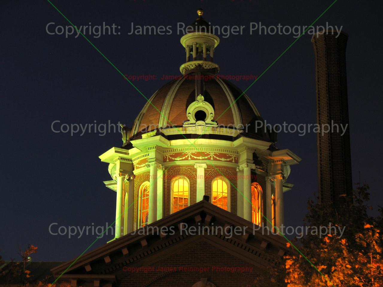 Dakota County Courthouse at Night