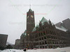 Minneapolis City Hall in Snow