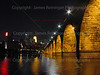 Stone Arch Bridge at Night