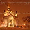 St. Paul's Cathedral in Snowstorm