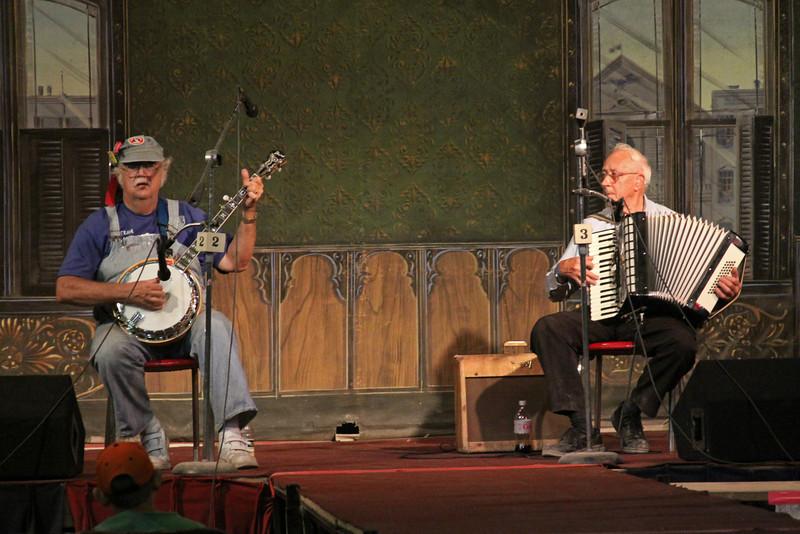 Banjo and Accordion Player