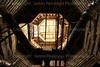 Inside the old clocktower of the Le Sueur County Courthouse