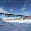 Railroad Bridge Over the Mississippi