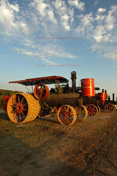 Old Minneapolis Steam Tractors