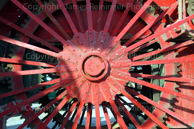 Old Tractor Wheel