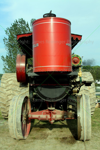 Old Minneapolis Steam Tractor