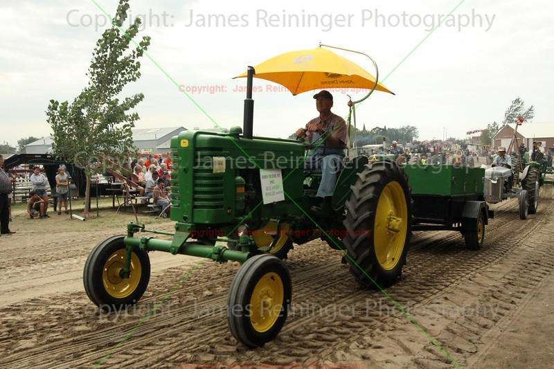 John Deere Tractor<br /> Western Minnesota Steam Threshers Reunion<br /> Rollag, Minnesota