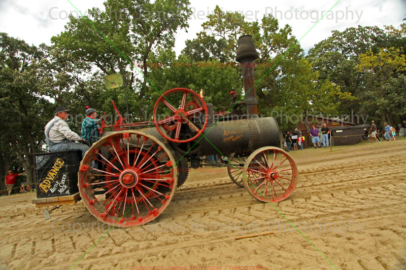 Advanced Straw Burner Tractor