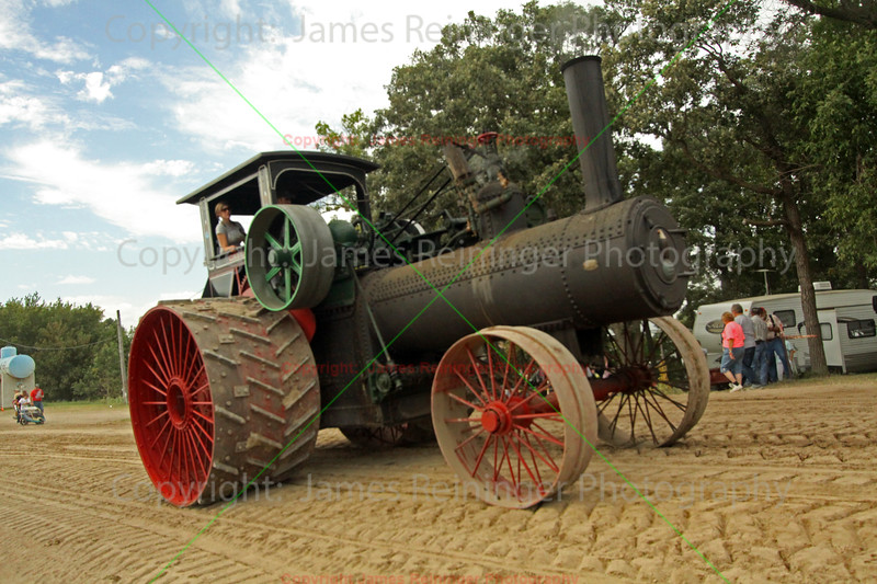 Old Case Steam Tractor