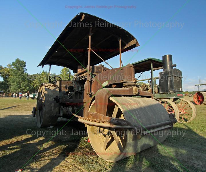 Old Caterpiller Road Roller
