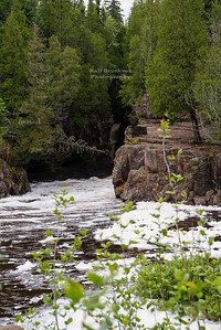 Hidden Falls of the Temperance River