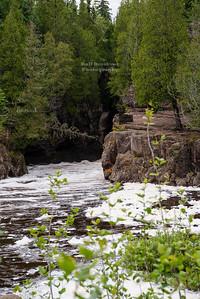 Hidden Falls of the Temperance River