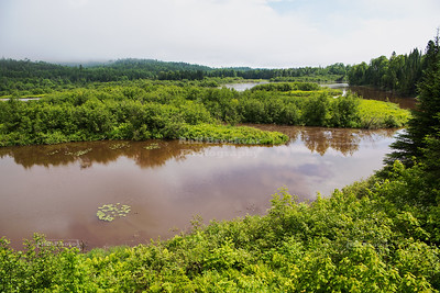 Pigeon River in Grand Portage State Park