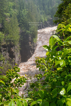Pigeon River Gorge in Grand Portage State Park