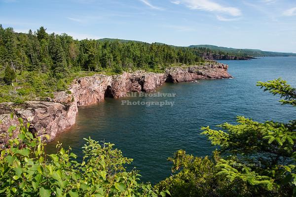 Shovel Point on Lake Superior