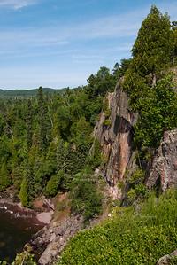 Cliffs at Tettegouche State Park