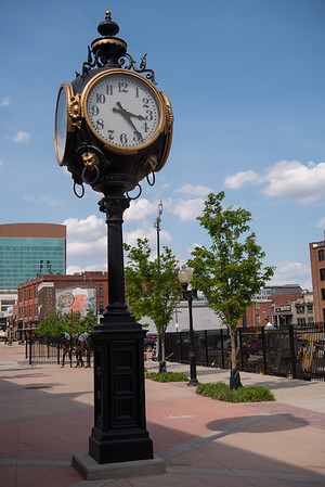 Old-fashioned Clock in St. Louis