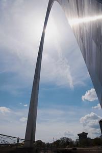 Gateway Arch in Saint Louis, Missouri, USA