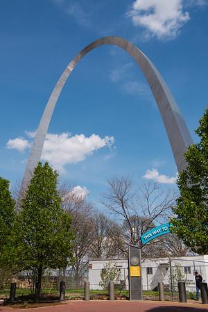 Gateway Arch and Park Entrance