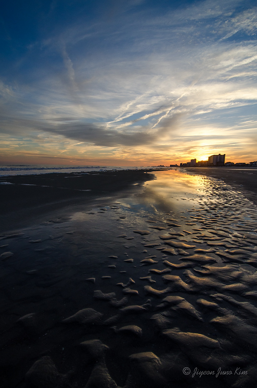 Sunset at North Myrtle Beach, SC