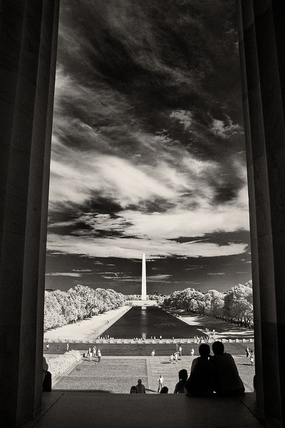 National Mall viewed from the Lincoln Memorial