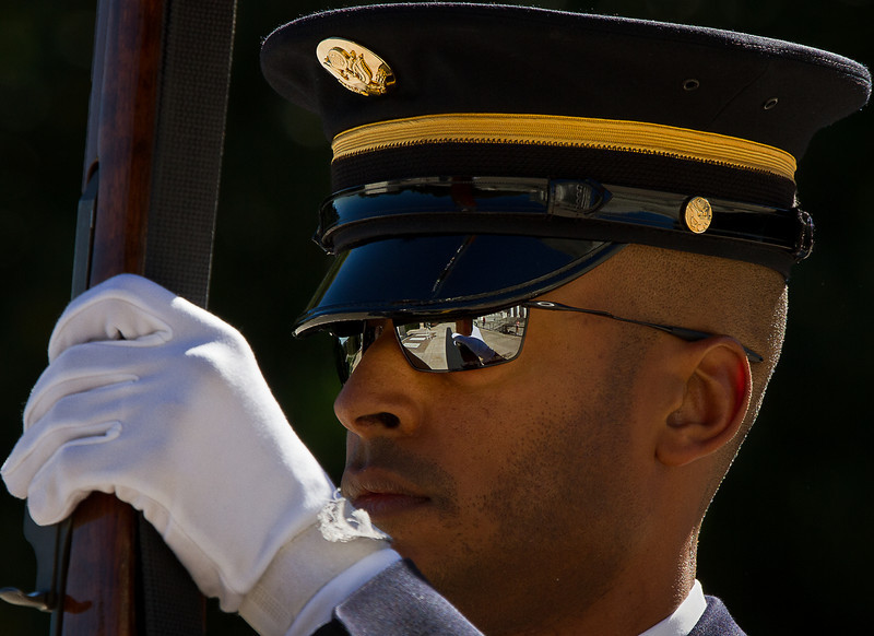 Honor Guard, Tomb of the Unknown Soldier - Arlington National Cemetery