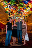 Chris, Carolina, Andrew and Katy inside the Bellagio Hotel