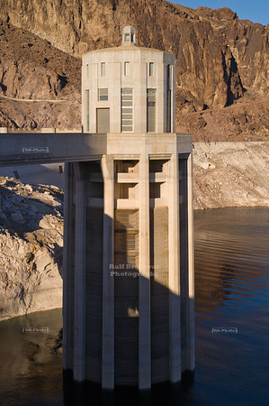 Intake tower at Hoover Dam