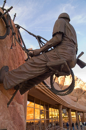 High Scaler Monument at Hoover Dam