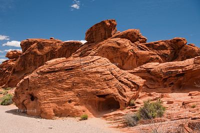 Beehive rock in Valley of Fire State Park
