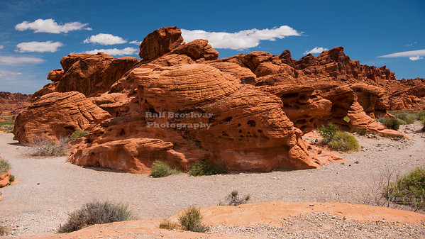 Beehive Rocks in Valley of Fire State Park