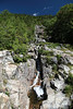 "A ""flume"" or ""gravity chute"", carved through rock over time by the forces of nature.<br /> <br /> Image by Martin McKenzie ~ All Rights Reserved"