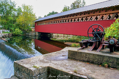 New England covered bridge1