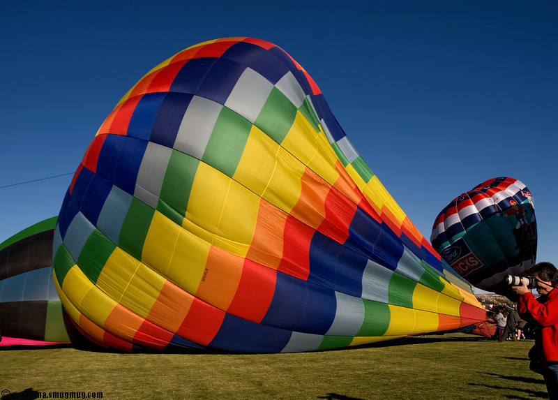 at the Albuquerque Balloon fiesta 2007