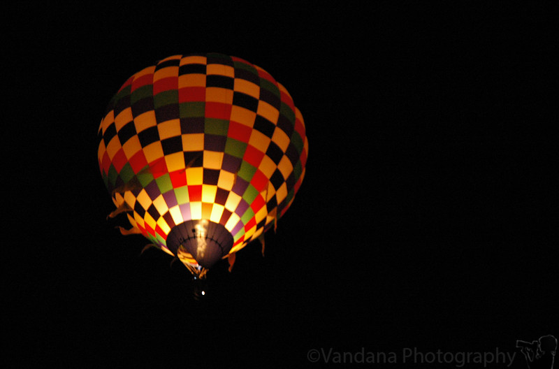 Dawn patrol - early am, a few balloons start up before sunrise to 'check out conditions