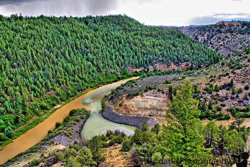 Chama Canyon, New Mexico