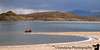 Boating in Elephant Butte State Park, New Mexico