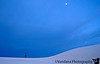 late evening at White Sands national Monument, New Mexico