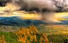 Storm over the Sandia Mountains, Albuquerque