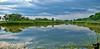 Fort sumner lake reflections