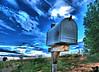 Mailbox near Ned Houk Memorial Park, Clovis,NM