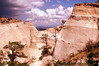 a nearing storm at Tent rocks National Monument - this picture was chosen to feature in New Mexico- a land of enchantment calender 2006