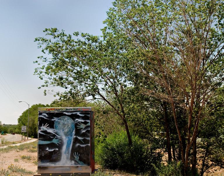 roadside art, Santa Fe