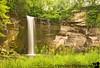 the Minneopa Falls at Minneopa State Park, Minnesota